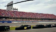 Talladega race to resume Monday