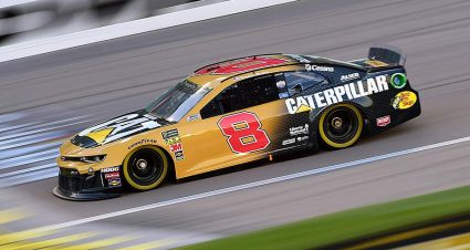Rookie Daniel Hemric bags first Busch Pole Award in Kansas qualifying