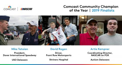 2019 Comcast Community Champion of the Year Award Finalists