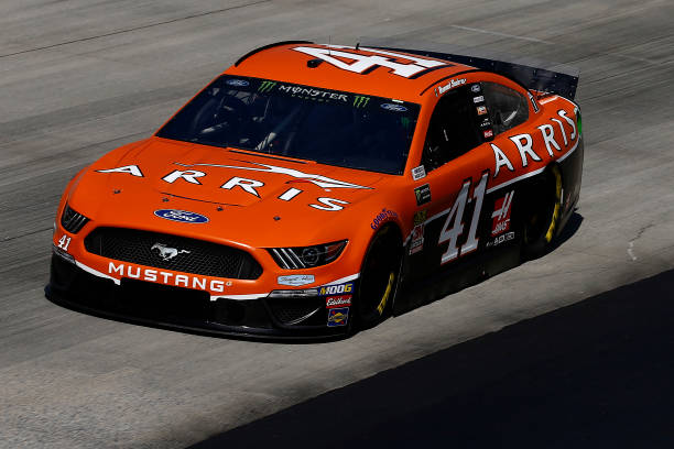 Daniel Suarez drives No. 41 Ford Mustang to 14th-place ...