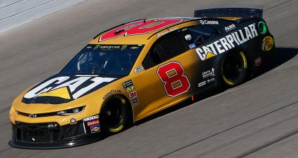 Hemric, Keselowski top Monster Energy Series practices at Kansas Speedway