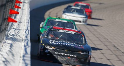 Jeremy Clements drives No. 51 Chevrolet Camaro to sixth-place finish at Kansas Speedway