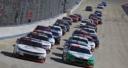 Justin Allgaier drives No. 7 Chevrolet Camaro to second-place finish at Dover International Speedway