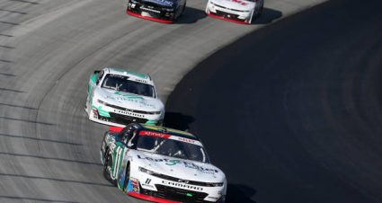 Justin Haley drives No. 11 Chevrolet Camaro to fourth-place finish at Dover International Speedway