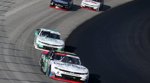 Justin Haley Drives No 11 Chevrolet Camaro To Fourth Place Finish At Dover International Speedway.jpg
