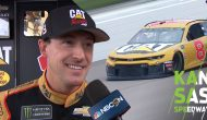 Hemric scores first pole at Kansas: 'That's pretty special'