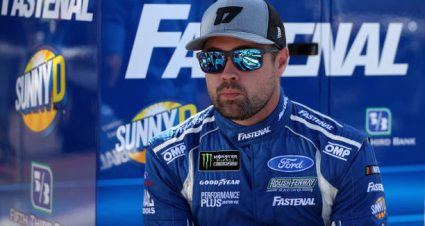 Ricky Stenhouse Jr finishes ninth at Talladega Superspeedway