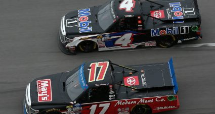 Tyler Ankrum drives No. 17 Toyota Tundra to seventh-place finish at Talladega Superspeedway