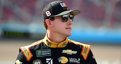 Daniel Hemric to pilot No. 8 JR Motorsports Chevrolet part time in 2020