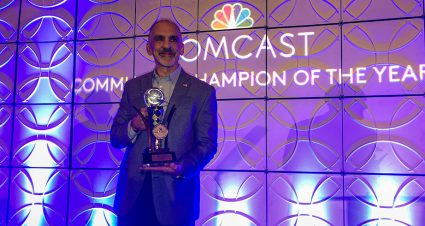 Dover's Mike Tatoian named 2019 Comcast Community Champion of the Year