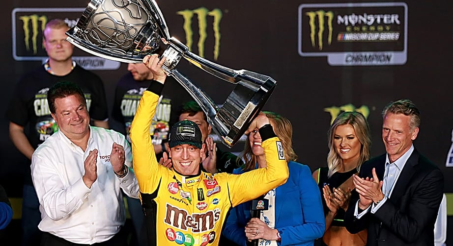 Kyle Busch caps season with second Cup Series championship | NASCAR