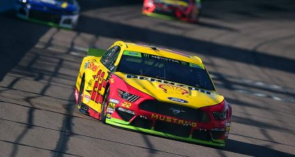 Joey Logano, Denny Hamlin divide stage wins in Phoenix playoff race