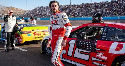 Third place at Phoenix leaves Ryan Blaney outside Championship 4 field