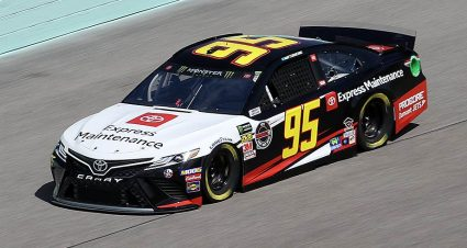 Leavine Family Racing No. 95 fined for lug-nut penalty at Miami