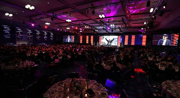 The NASCAR industry celebrates Xfinity and Gander Trucks champions at the 2018 season awards in Charlotte.