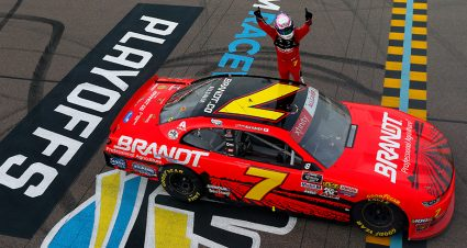Justin Allgaier charges into Championship 4 with Xfinity win at Phoenix