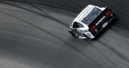 Aric Almirola drives No. 10 Ford Mustang to  second-place finish at Texas Motor Speedway