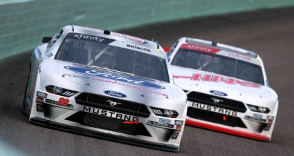 Chase Briscoe drives No. 98 Ford Mustang to third-place finish at Homestead-Miami Speedway