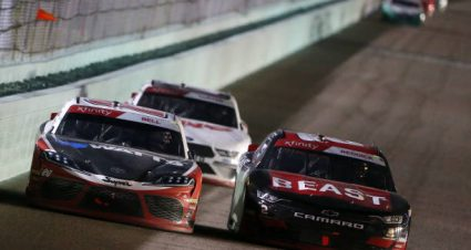 Christopher Bell drives No. 20 Toyota Supra to fifth-place finish at Homestead-Miami Speedway