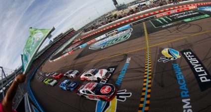 Gray Gaulding drives No. 08 Chevrolet Camaro to 12th-place finish at ISM Raceway
