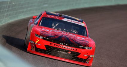 Justin Allgaier drives No. 7 Chevrolet Camaro to 14th-place finish at Homestead-Miami Speedway