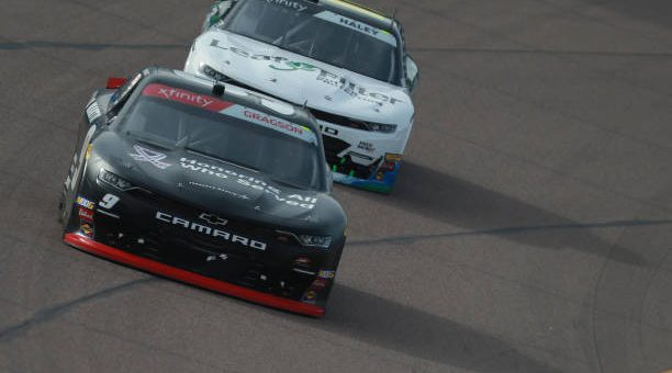Justin Haley Drives No 11 Chevrolet Camaro To Seventh Place Finish At Ism Raceway.jpg