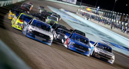 Ross Chastain drives No. 45 Chevrolet Silverado to fourth-place finish at Homestead-Miami Speedway