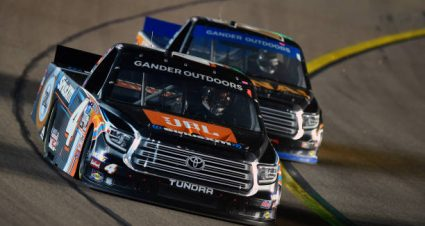 Todd Gilliland drives No. 4 Toyota Tundra to 14th-place finish at ISM Raceway