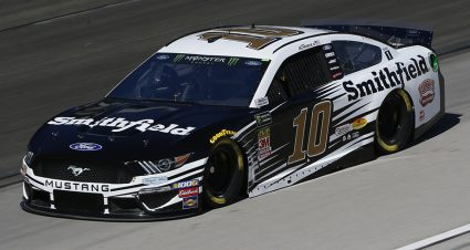 SHR teammates Almirola, Bowyer snare top spots in Texas practice