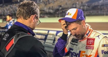 'I didn't leave anything out there;' Hamlin laments lost chance