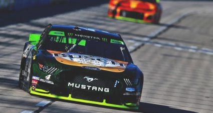 Aric Almirola, Kevin Harvick win stages in Texas playoff race