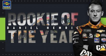 Daniel Hemric clinches Sunoco Rookie of the Year Award
