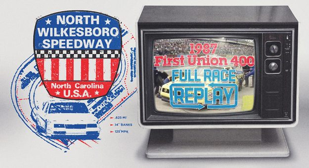 Relive the 1987 North Wilkesboro races won by Earnhardt, Labonte