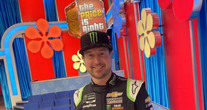 Come on down Kurt Busch, you are on 'The Price Is Right'