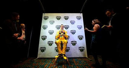 Kyle Busch reflects on brief WWE reign to kick off Champion's Week