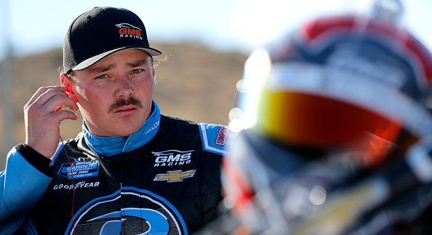 Brett Moffitt suits up at ISM Raceway near Phoenix