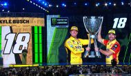 Kyle Busch's touching words to wife Samantha during champion's speech