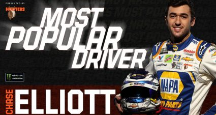 Chase Elliott wins Most Popular Driver Award in NASCAR Cup Series