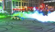 Alex Bowman smokes out Broadway with burnout