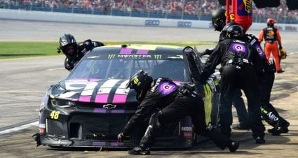Analysis: Pit-road improvements key for No. 48 team in Jimmie Johnson's final run