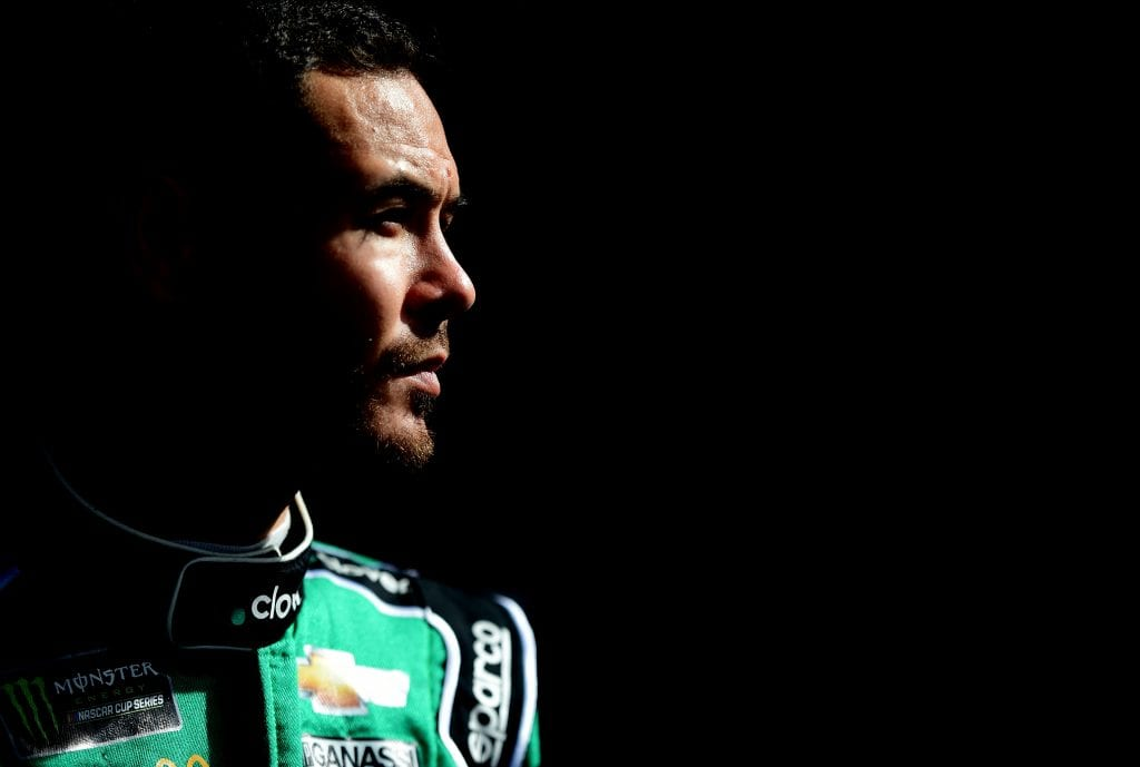 AVONDALE, ARIZONA - NOVEMBER 09: Kyle Larson, driver of the #42 Clover Chevrolet, looks on prior to qualifying for the Monster Energy NASCAR Cup Series Bluegreen Vacations 500 at ISM Raceway on November 09, 2019 in Avondale, Arizona. (Photo by Jared C. Tilton/Getty Images) | Getty Images