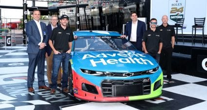 AdventHealth grows partnership with Chip Ganassi Racing and Kyle Larson; adds Ross Chastain for two races