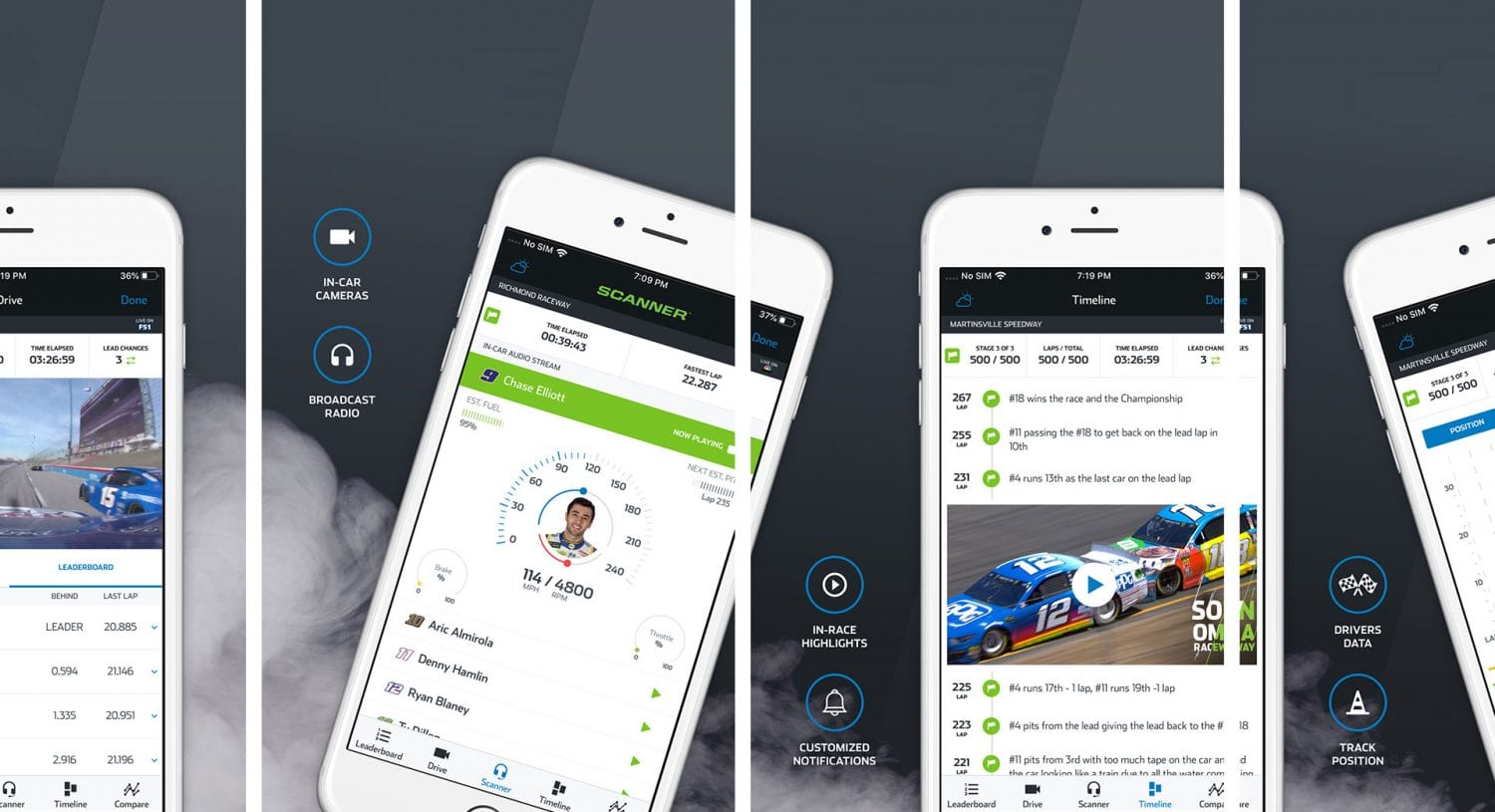The Official App of NASCAR