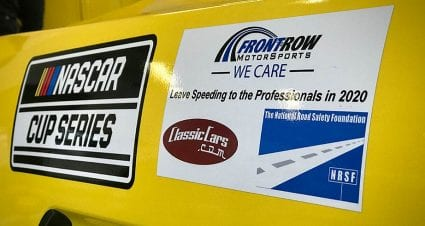 Safe driving campaign hits home for Front Row, McDowell