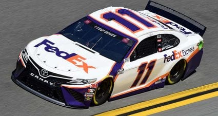 No. 11 of Denny Hamlin fails pre-race inspection, will drop to rear for 2020 Daytona 500