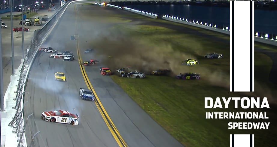 Jimmie Johnson, others involved in Daytona 500 wreck