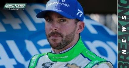 Ross Chastain to drive No. 6 Ford for Ryan Newman at Las Vegas