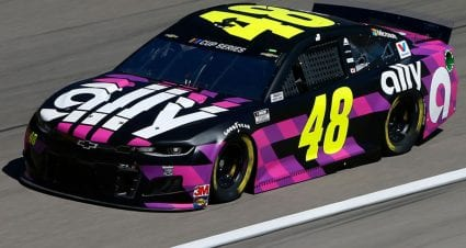Johnson, Almirola lead two Las Vegas practices