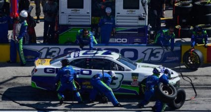 Ty Dillon finishes 10th at Las Vegas Motor Speedway