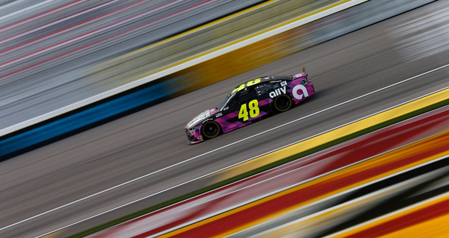 Backseat Drivers: Is Jimmie a lock at Auto Club Speedway?
